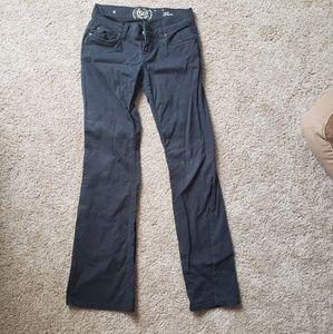 👖black jean work pants by SO size 3👖
